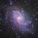 M33 Triangulum Galaxy,                                Eirik Kittelsen