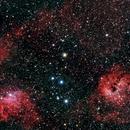 IC 405 Flaming star,                                Boutros el Naqqash