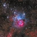 Trifid-Nebula M20,                                Markus Bauer