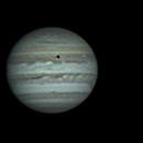 Jupiter, Io+eclipse shadow, and Europa - 05/11/2017,                                Jason Doyle