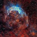 A narrowband smile in Carina (NGC3199 - the Smile Nebula),                                Rick Stevenson