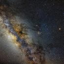 Milky Way and Saturn from La Palma,                                sergio.diaz