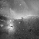 Horsehead Nebula H-alpha,                                Kevin
