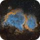 Soul Nebula - Sii, Ha, Oiii,                                Brad