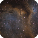 Sharpless in Cas [Sh2-199] - Part of the Soul Nebula in SHO,                                G400