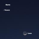 Congiunzione Luna, Marte e Venere,                                Spock