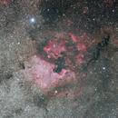 NGC7000 wide field,                                volleywang
