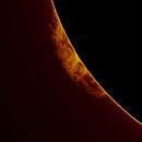 Sun : Prominence (08/2015),                                JG