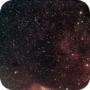 sh2-145 and sh2-140 of july 2010 - over 8 hours exposures - V2 crop, denoise and gradient correction,                                Stefano Ciapetti