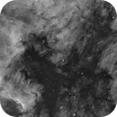 """NGC7000 - Borg 107FL with ESATTO 3"""" - First Light,                                TomBramwell"""