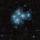M45 Pleiades (Seven Sisters) by Nikon D800,                                jerryyyyy
