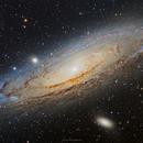 M31 Andromeda Galaxy,                                Girish