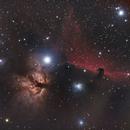 B33, NGC2023,  NGC2024,                                Lee B