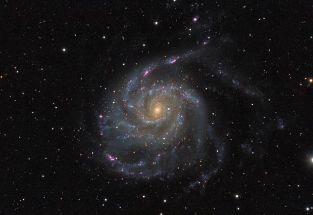 Messier 101 revisited,                                Daniel.P