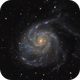 Messier 101 revisited,                                Daniel.P