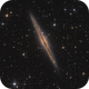 NGC 891 - Silver Sliver Galaxy,                                Michael S.