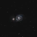 M51 - The Whirlpool Galaxy,                                Bradicus