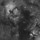 North America Nebula, Pelican Nebula, Deneb and Sadr,                                JMDean