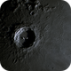 Craters Copernicus & Eratosthenes in colour at 9 days and 19 hours old,                                Niall MacNeill