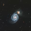 M51 - Whirlpool galaxy,                                PiPais