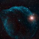 Sh2 308 Dolphin Nebula HOO,                                Mike Mulcahy