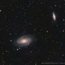M81 M82 Narrow Band,                                Valts Treibergs