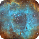 First Image from My Observatory - The Rosette Nebula,                                Andrew Marjama