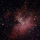 M16 Eagle nebula,                                Kushal86