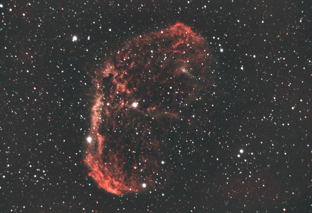 NGC6888 under the Moon !,                                basskep