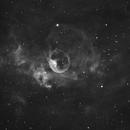 bubble nebula (NGC7635),                                Byoungjun Jeong