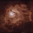 M8 The lagoon nebula  HaO3,                                John