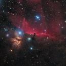 IC 434,NGC 2024 The Horsehead & Flame nebula.,                                Mohammad Nouroozi