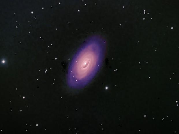 Messier 64: The Black Eye Galaxy,                                David Redwine