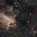 M17 Omega,                                lucionegrini