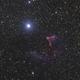 IC63 and Gamma Cas,                                OrionRider