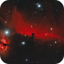 Horsehead and Flame,                                Damien Cannane