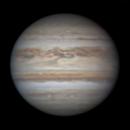 Jupiter with a malfunctioning motor focuser,                                Chappel Astro
