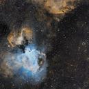 Swan Nebula (M17),  M18, IC 4701,                                Brian Sweeney