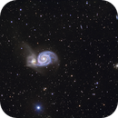 M51 (NGC 5194) Whirlpool Galaxy,                                snakagawa