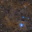 NGC7023,                                LAUBING