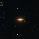 M104 la galaxie du Sombrero,                                JLastro