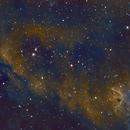 IC1848 Hubble Palette,                                Emilio Zandarin