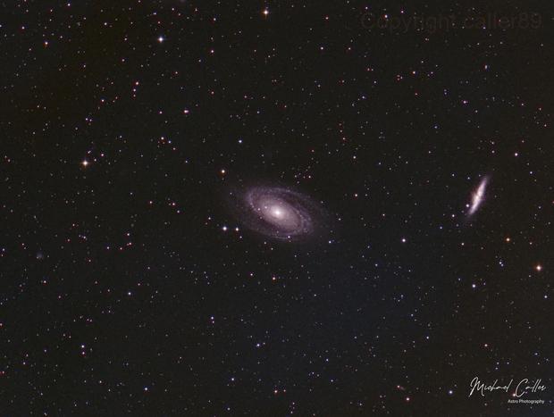 M81 & M82,                                Michael Caller