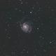 Pinwheel Galaxy in HaRGB,                                Hasan Oktay ÖNEN