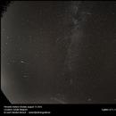Perseids meteor shower 2016,                                Geert Vanden Broeck