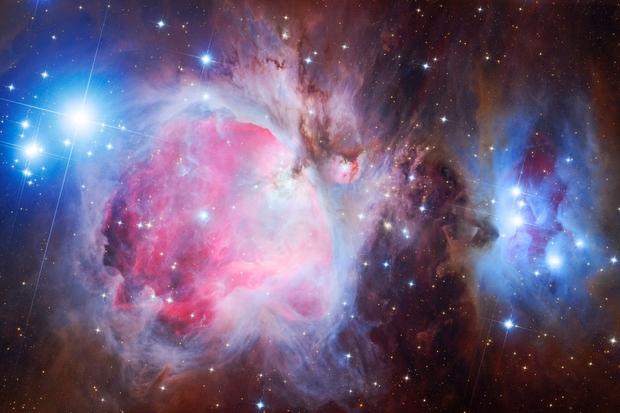 M42, M43, NGC1973, NGC1975, NGC1977 the Great  Orion Nebula,                                Péter Feltóti