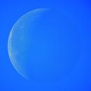 Daytime Moon,                                drivingcat
