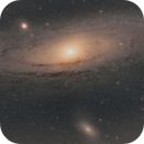 Andromeda Galaxy through my telescope RASA 11,                                Ray's Astrophotog...