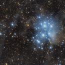 The Pleiades Widefield,                                Marcel Nowaczyk