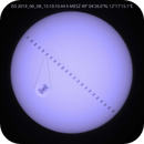 ISS Transit vor der Sonne,                                Anton